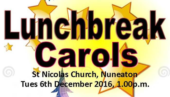 Lunchbreak Carols Banner