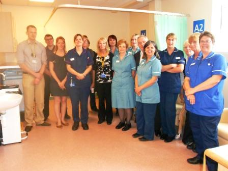 Ambulatory care unit opening