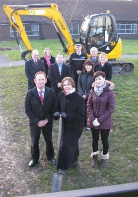 Building work gets underway