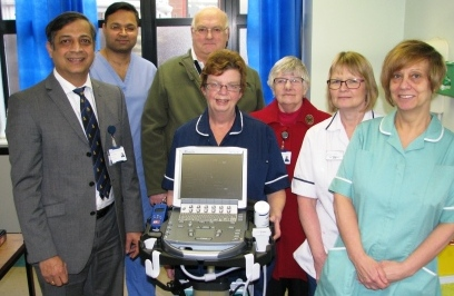 League of Friends handover of orthopaedic equipment