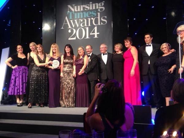 Nursing Times Award 2014