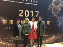Oasis therapy lead speaks at Conference in China