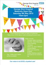 maternity open day poster