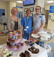 Maternity Open Day Cakes May 2015