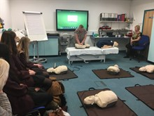 Career Taster Day Basic Life Support