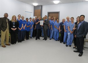 Endoscopy unit is 'one of the best' according to JAG inspectors
