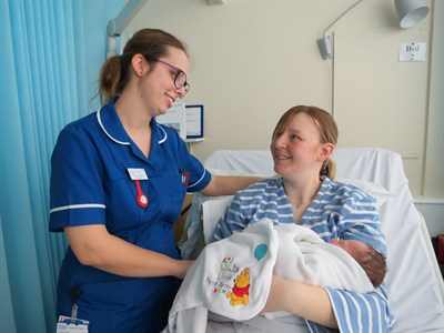 Help to shape the future of maternity services at George Eliot Hospital.