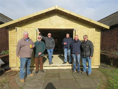 Men in Sheds are having an open event to tie in with International Men's Day.