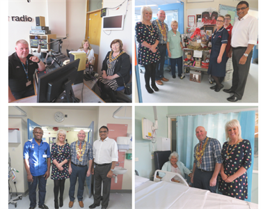 George Eliot Hospital opens its doors to visit from civic leaders
