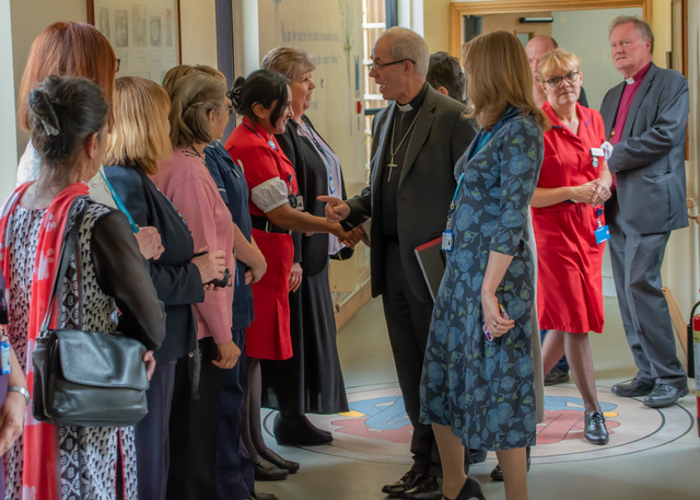 Archbishop of Canterbury visits GEH